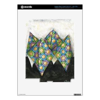 Origami Fortune Teller on Geometric Paper iPad 3 Skins