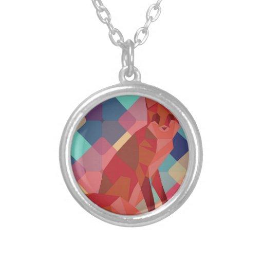 Origami Fox Necklace