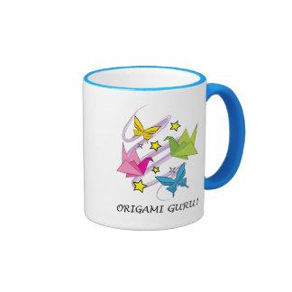 Origami Guru! Coffee Mugs