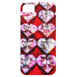 ORIGAMI HEARTS JAPANESE PAPER ART iPhone SE/5/5s CASE