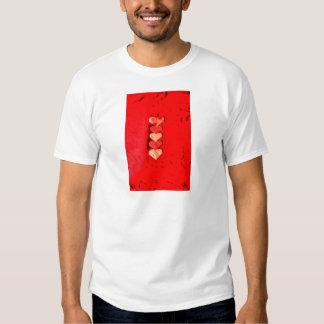 ORIGAMI HEARTS JAPANESE PAPER ART T-SHIRT