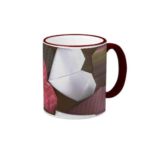 Origami Hearts Mug