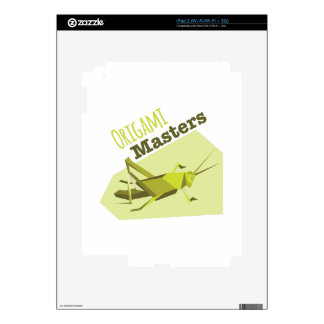 Origami Masters Decal For The iPad 2