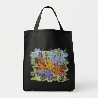Origami Menagerie Tote Bag