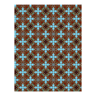 Origami Paper Blue Brown Customizable Hobby Art