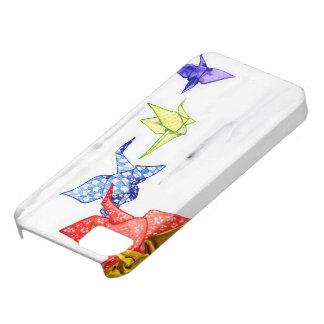 Origami Paper Cranes iPhone SE/5/5s Case