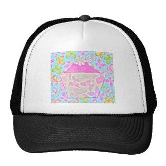 ORIGAMI PAPER CUP CAKE ART TRUCKER HAT
