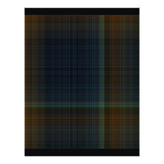 Origami Paper Dark Plaid Customizable Hobby Art