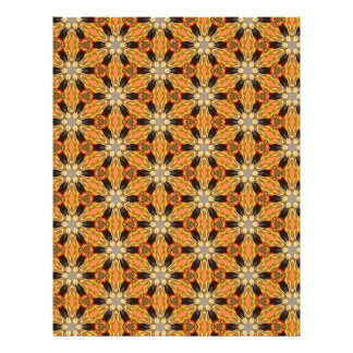 Origami Paper Orange Black Customizable Hobby Art