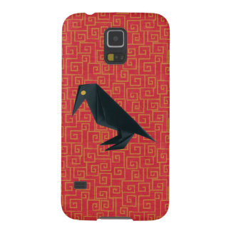 Origami Raven Galaxy S5 Case