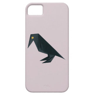 Origami Raven on Lavender iPhone 5 Cover