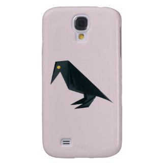 Origami Raven on Lavender Samsung S4 Case