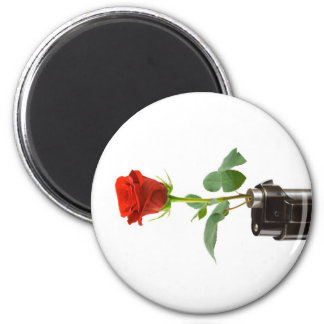 "Origami Rose ""Automatic"" Apparel Store Magnet"