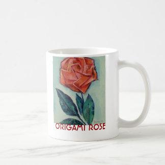 Origami Rose Mug