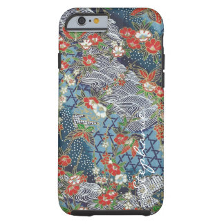 ORIGAMI SHIMMER WAVES TOUGH iPhone 6 CASE