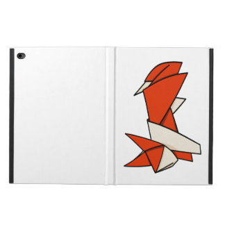 Origami Textured Patterned Fox Powis iPad Air 2 Case