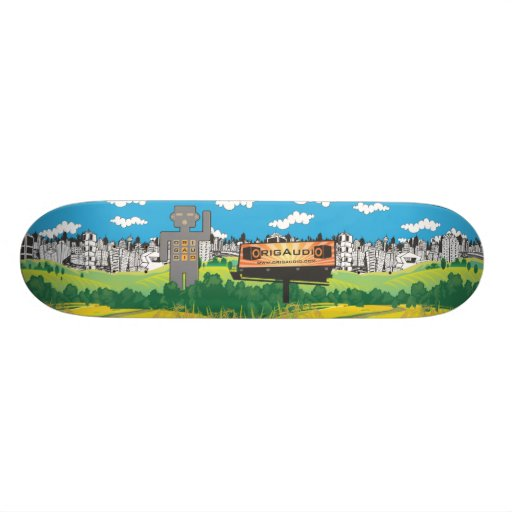 OrigAudio Skateboard