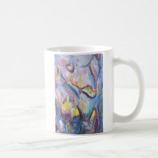 Origen de la especie (expresionismo abstracto) taza de café