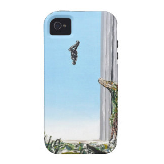 ¡Origen de la especie - impresión de encargo! Case-Mate iPhone 4 Carcasa