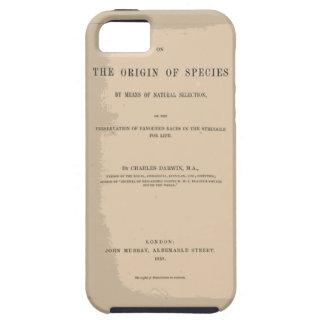 Origen de la especie mediante la selección natural iPhone 5 protector