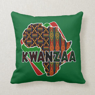Origin Kwanzaa Throw Pillow