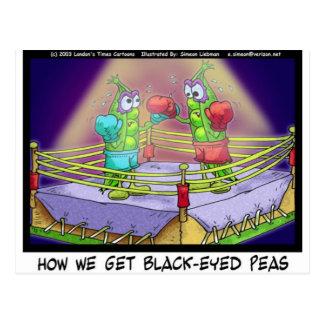 Origin Of Black Eye Peas Funny Boxing Tees/Gifts Postcard