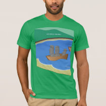 Origin of Easter Island Heads T Shirt