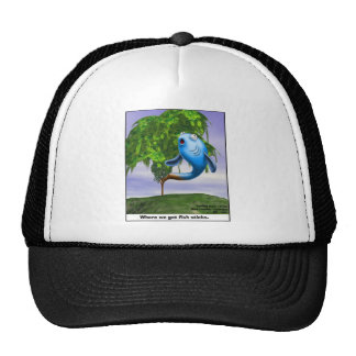 Origin OF Fishsticks Funny Tees & Gifts Trucker Hat