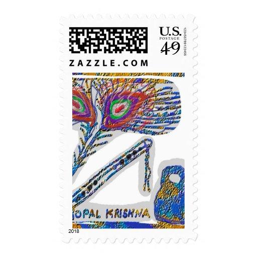 Origin of message of Gita - Geeta - Mahabharat Postage Stamp
