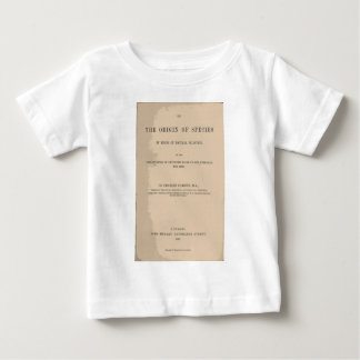 Origin of Species by Means of Natural Selection Baby T-Shirt