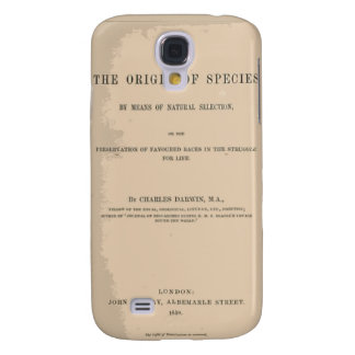 Origin of Species by Means of Natural Selection Galaxy S4 Covers