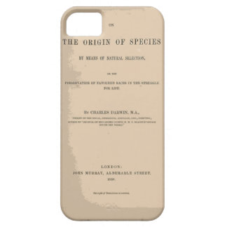 Origin of Species by Means of Natural Selection iPhone 5 Covers