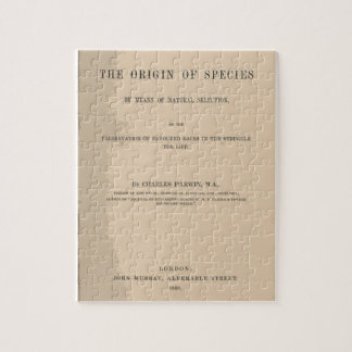 Origin of Species by Means of Natural Selection Jigsaw Puzzles