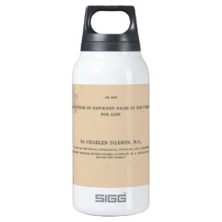 Origin of Species by Means of Natural Selection Thermos Bottle