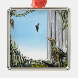 Origin Of Species - Custom Print! Metal Ornament