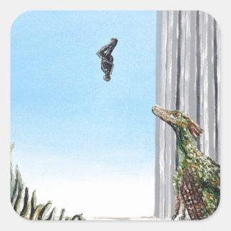 Origin Of Species - Custom Print! Square Sticker