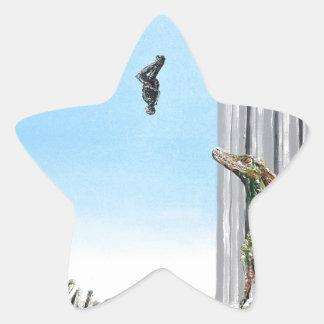Origin Of Species - Custom Print! Star Sticker