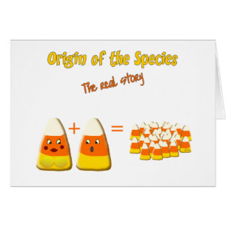 Origin of The Species Card