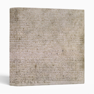 ORIGINAL 1215 Magna Carta British Library Binder