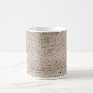 ORIGINAL 1215 Magna Carta British Library Classic White Coffee Mug