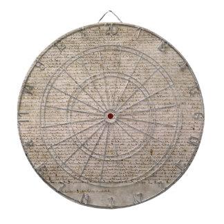 ORIGINAL 1215 Magna Carta British Library Dartboard