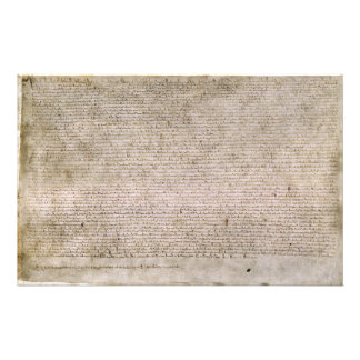 ORIGINAL 1215 Magna Carta British Library Personalized Stationery