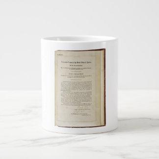 ORIGINAL 17th Amendment U.S. Constitution Giant Coffee Mug