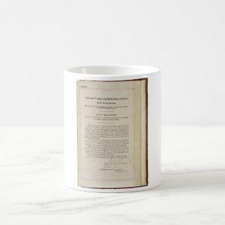 ORIGINAL 17th Amendment U.S. Constitution Classic White Coffee Mug