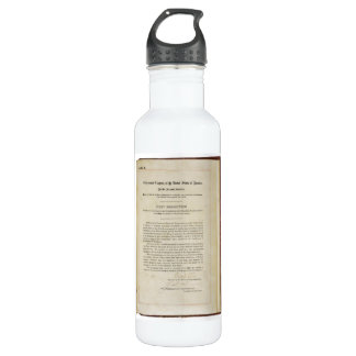 ORIGINAL 17th Amendment U.S. Constitution Water Bottle