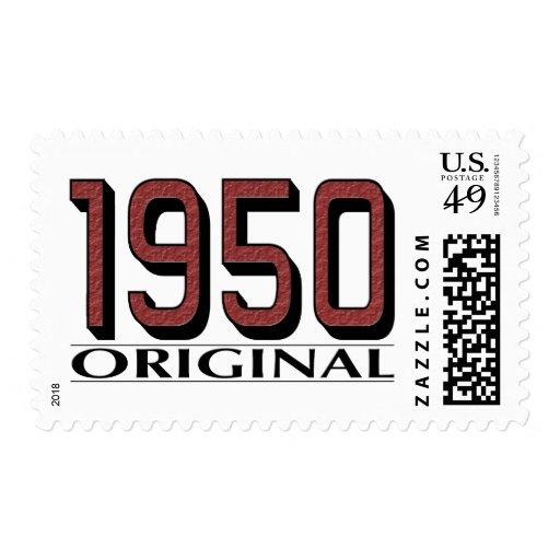 Original 1950 sello