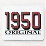 Original 1950 tapetes de raton