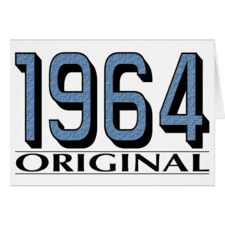 Original 1964 felicitacion