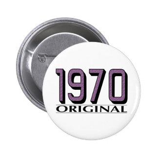 Original 1970 pin redondo 5 cm