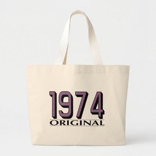 Original 1974 bolsa tela grande